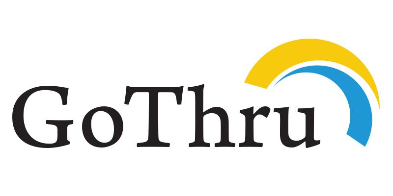 GoThru logo